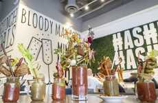 DIY Bloody Mary Bars - Arizona's Hash Kitchen Features a Build-Your-Own Bloody Mary Bar