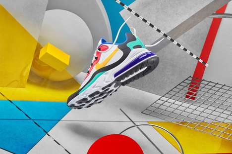 High-Performing Colorful Shoes