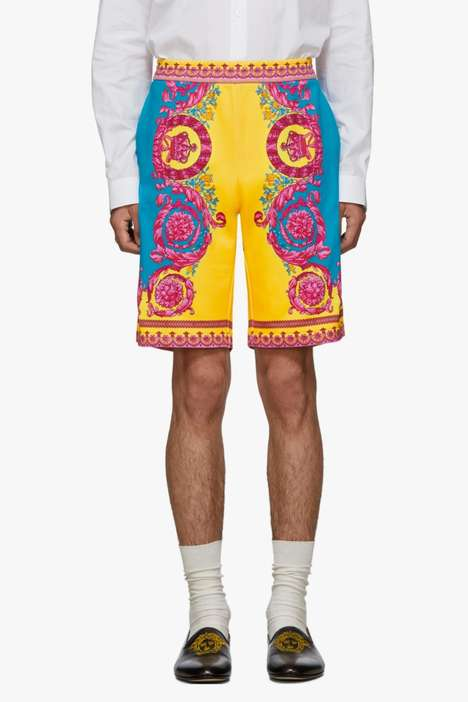 Ornamental Baroque Shorts