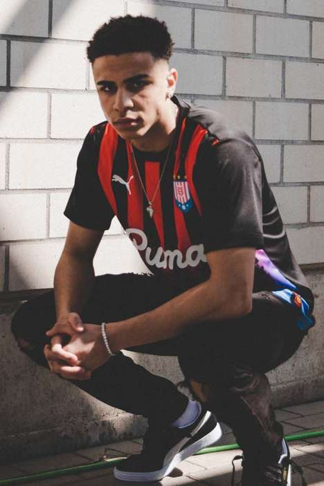 Casual Soccer-Inspired Streetwear