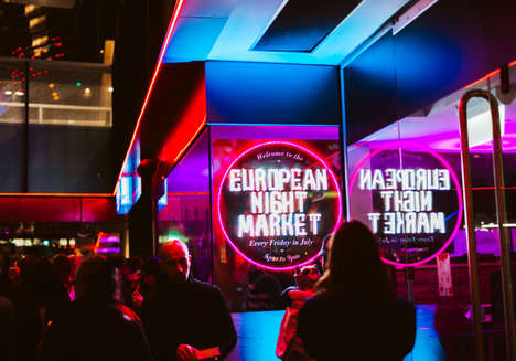 Nightlife Food Market Hubs