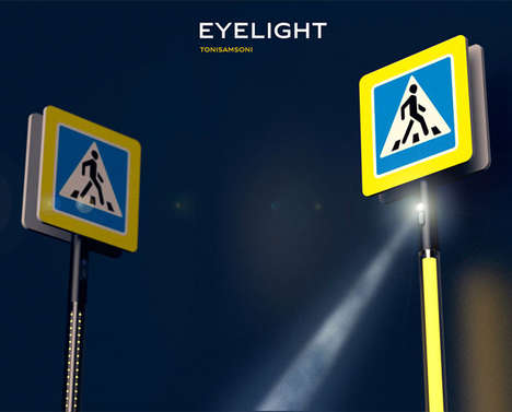 LED Projection Pedestrian Crossings