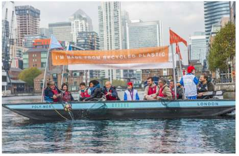 Recycled Plastic Boat Tours
