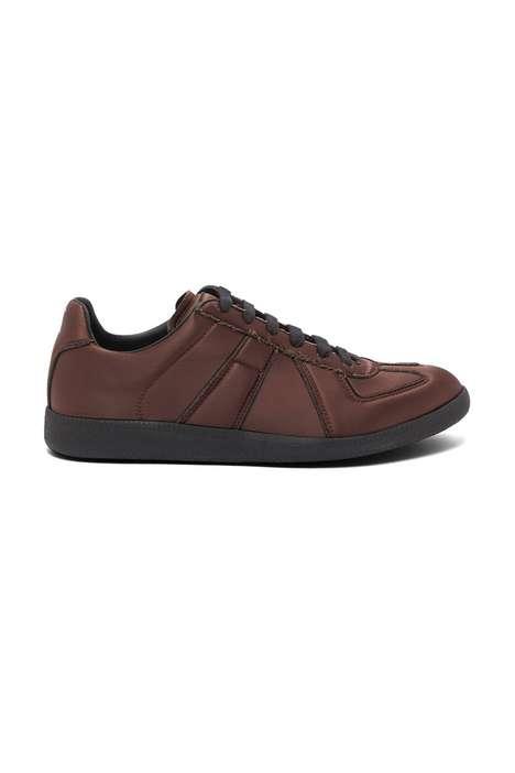 Futuristic Textile Luxe Sneakers