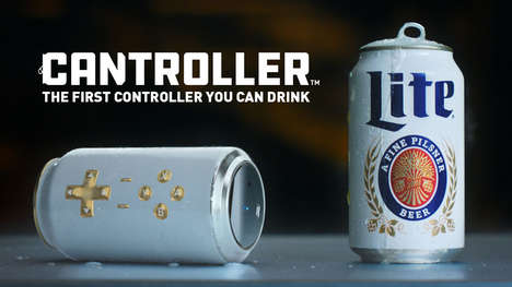 Gaming Peripheral Beer Packaging