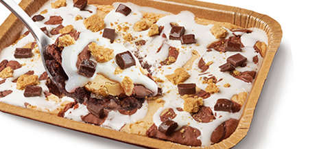 Sheet Pan S'mores Cakes