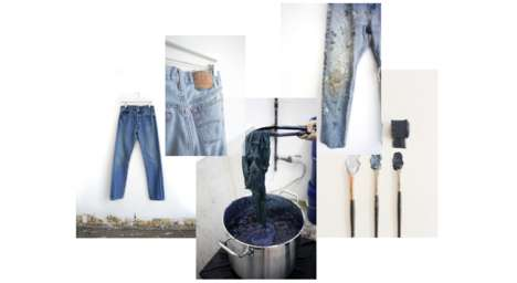 Sustainable Vintage Jeans