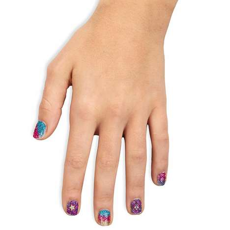 Kid-Friendly Glitter Nail Kits