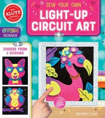 DIY-Style Light-Up Circuit Art