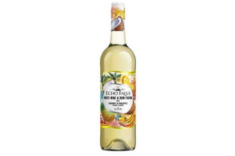 Tropical Rum-Infused Wines
