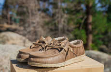 Repurposed Wood Shoes