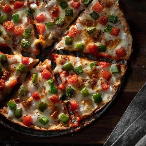 Cruciferous Vegetable Pizza Crusts