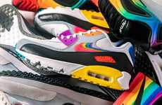 Colorful Pride-Honoring Sportswear