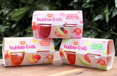 Boba-Inspired Fruit Cups