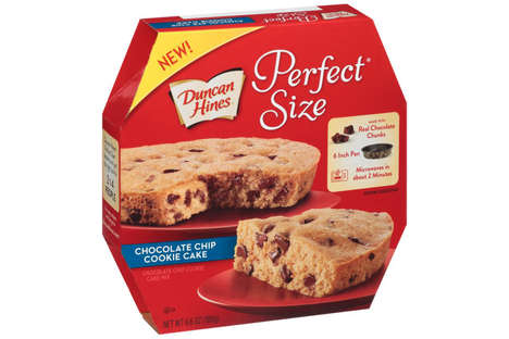 Microwaveable Cookie Cakes