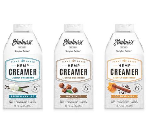 Flavored Hemp Creamers