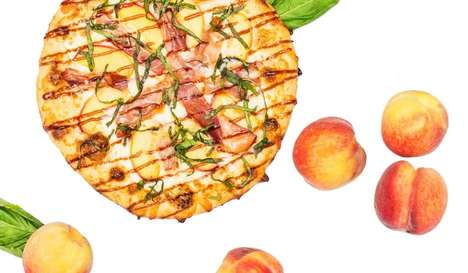 Sweet Stone Fruit Pizzas