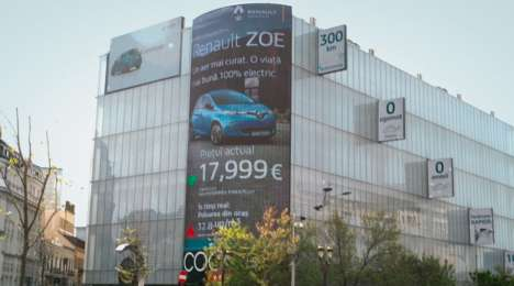 Pollution-Activated Car Billboards