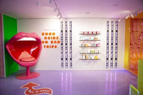 Psychedelic Skincare Pop-Ups