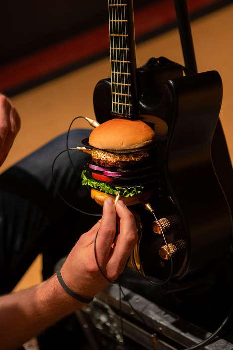 Burger-Powered Guitars