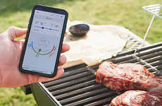 Intelligent Meal-Tracking Thermometers