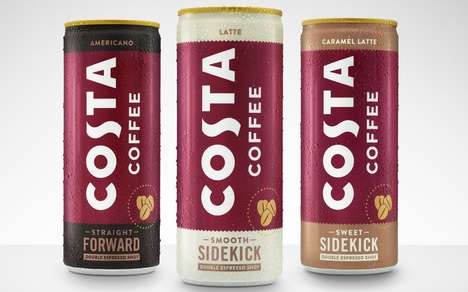 Conveniently Prepackaged Coffee Drinks