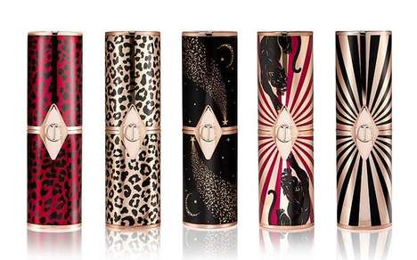 Refillable Lipstick Packaging - Charlotte Tilbury's Hot Lips 2 Lipsticks Have an Eco-Friendly Design