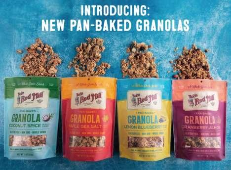 Pan-Baked Granolas