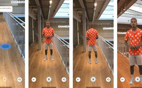 Augmented Reality Catwalks - ASOS' 'Virtual Catwalk' Presents Products on Augmented Reality Models