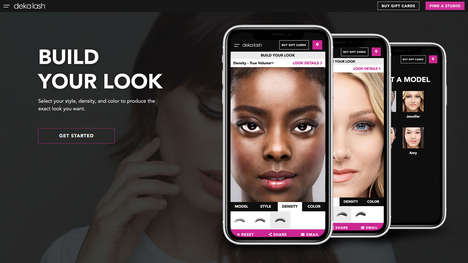 Eyelash-Previewing Apps - Deka Lash's Lash Selector App Visualizes Different Styles & Colors