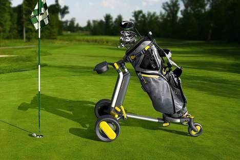 Intelligent Navigation Golf Caddies