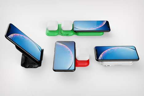 Wire-Free Multi-Device Chargers