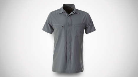 Heat-Dissipating Traveler Shirts - The Royal Robbins Men's City Traveler Shirt Resists Wrinkles