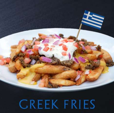 Vegan Mediterranean-Inspired Fries