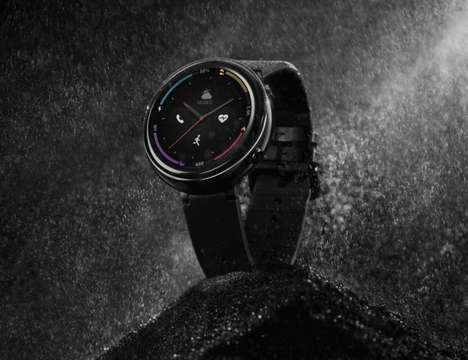 AI-Powered ECG Smartwatches - The Amazfit Verge 2 Offers Users eSIM Support
