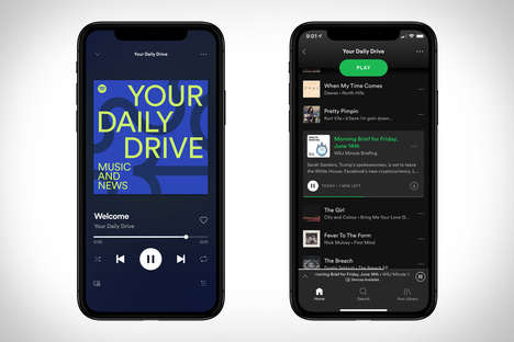 Radio-Inspired Streaming Features