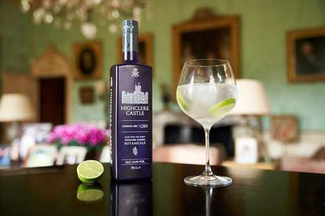 Iconic English Castle Gins