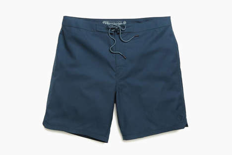 Wool-Based Swim Shorts - Outerknown's Woolaroo Swimming Trunks are Made from 100% Merino Wool