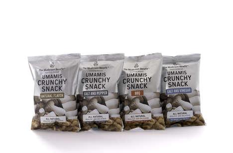 Umami Mushroom Snacks