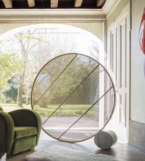 Circular High-Fashion Privacy Screens