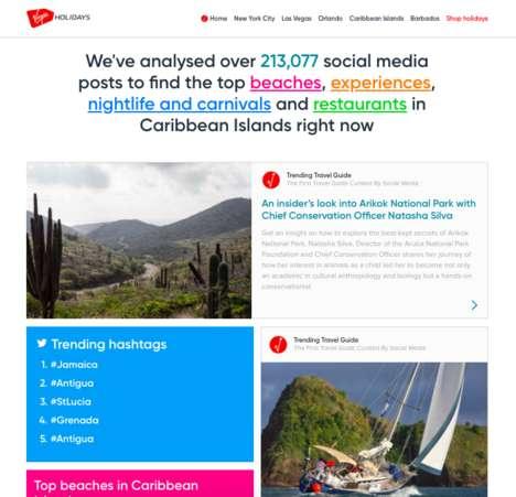 Social Media-Driven Travel Guides