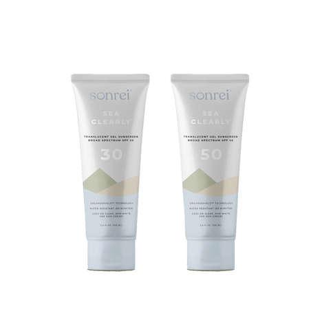 Translucent Gel Sunscreens