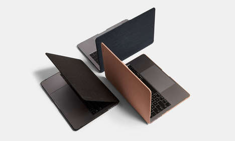 Textured Exterior Laptop Cases