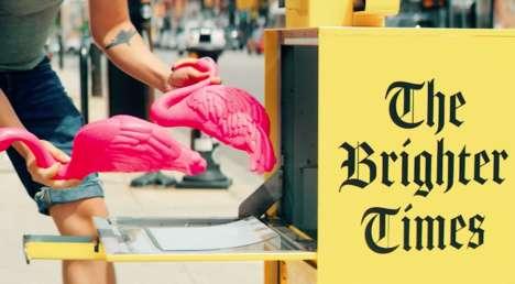 Joy-Sharing Newsstands