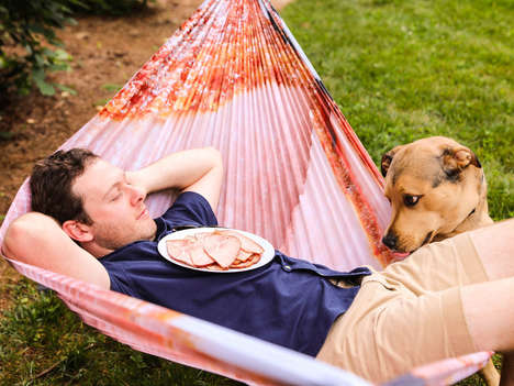 Meat-Themed Hammocks