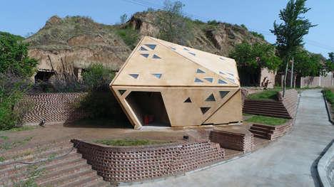 Temperature-Sensing Interactive Village Huts