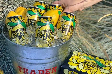 Lemon-Infused Malt Drinks