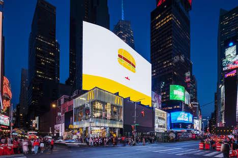 Billboard-Adorned Restaurants
