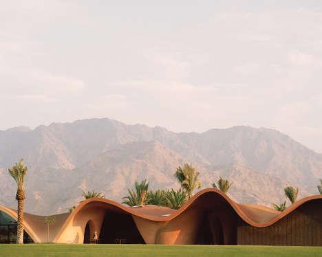 Wavy Golf Clubhouse Designs