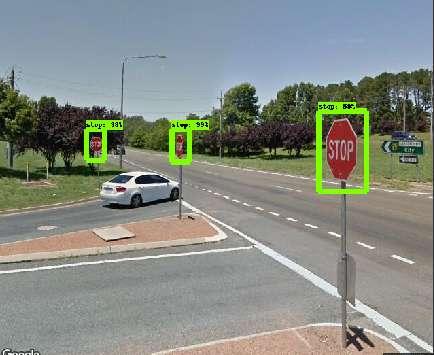 Broken Sign-Finding AI